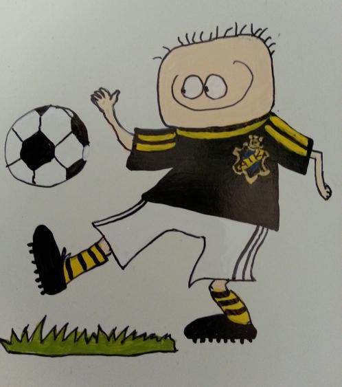Fotbollsspelate AIK